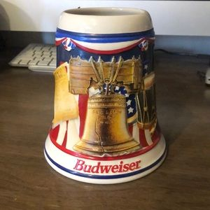 "Budweiser ""Let Freedom Ring"" Stein"